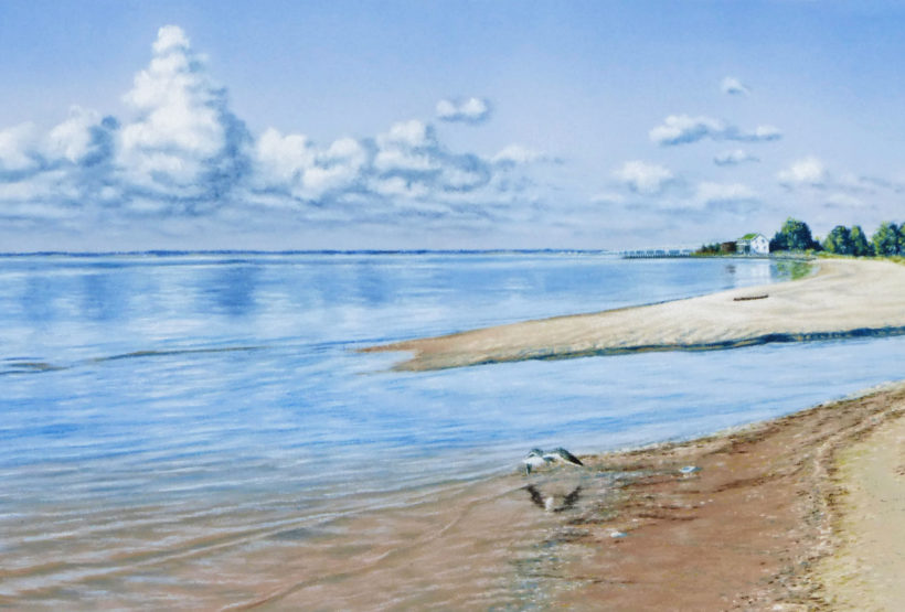 Jean's Art 'The Beach Revisited'
